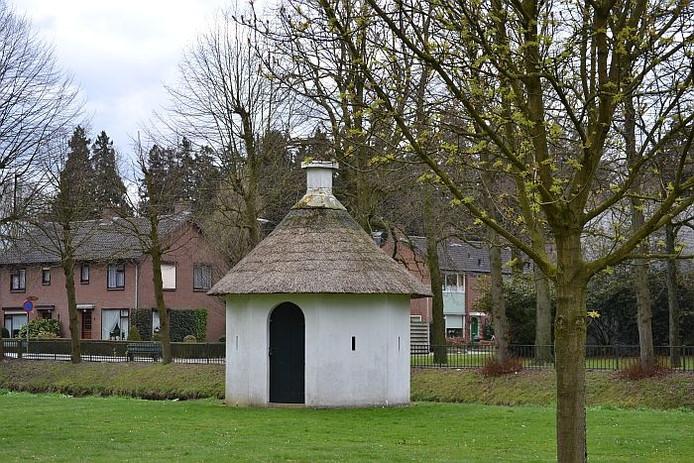Het bleekhuisje in park De Bleijke in Hengelo.