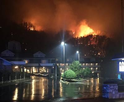 Politie arresteert minderjarigen voor bosbrand Tennessee