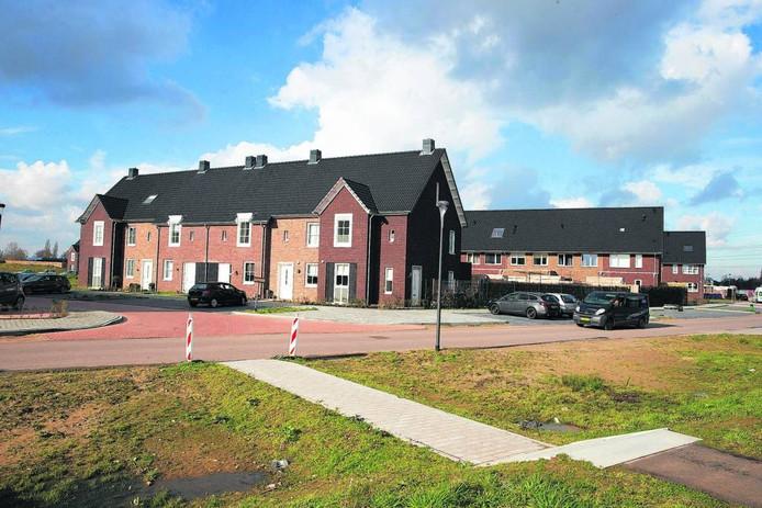 Nieuwbouw in Wijnbergen in Doetinchem.