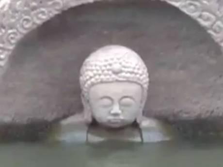 Mysterieus boeddhabeeld duikt op na zakken waterpeil China
