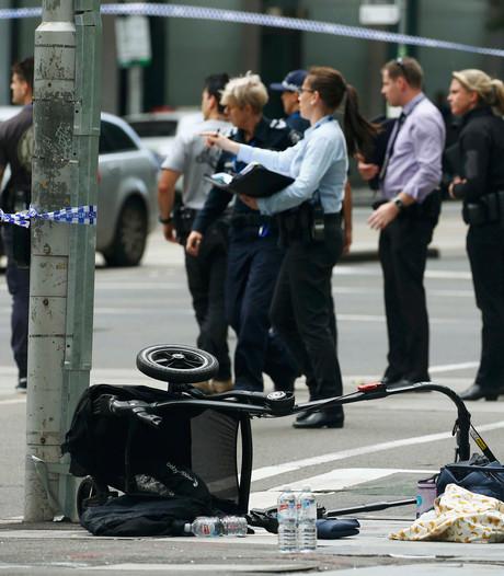 Man rijdt met opzet vier mensen dood in Melbourne