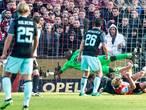 Sterker Feyenoord speelt gelijk tegen pover Ajax