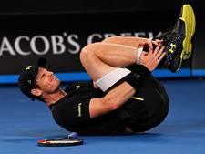 Murray ondanks pijnlijke enkel langs Roeblev