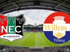 LIVE: NEC en Willem II kunnen aansluiten bij middenmoot