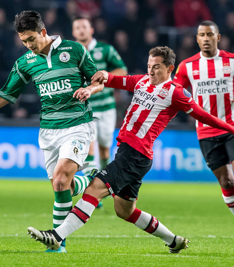 Beker: PSV profiteert van eigen doelpunten, Feyenoord aast op record