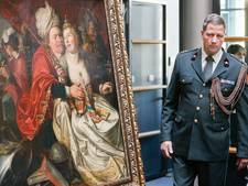 Veel bezoekers voor gestolen kunst in Westfries Museum