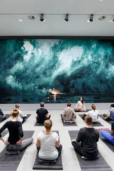 Video: Yoga tussen de kunstwerken