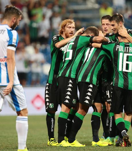 Sassuolo is zege op Pescara kwijt