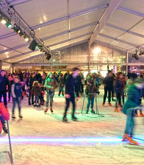 Ruim 5.000 schaatsers meer door dak op Wijchense ijsbaan