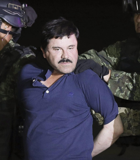 Angstige 'El Chapo' heeft last van hoge bloeddruk