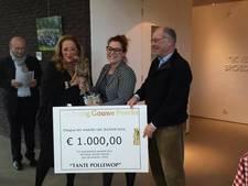 Tante Pollewop in Tilburg winnaar Gouwe Peerke 2016