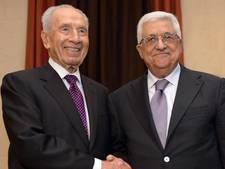 Abbas aanwezig bij begrafenis Peres