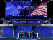Laatste avond Democratische conventie: Chelsea en Hillary spreken