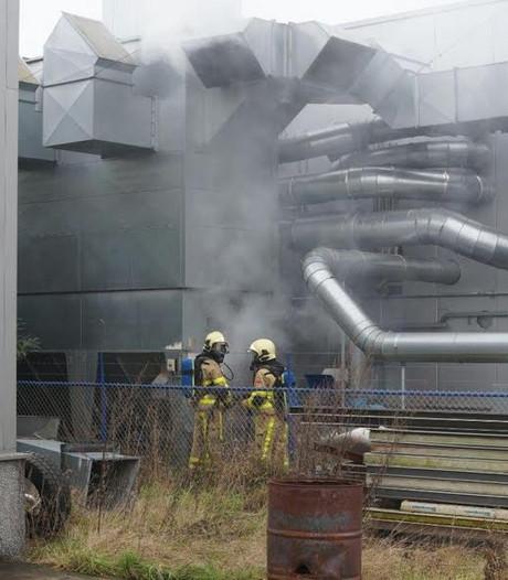 Brand in afzuiginstallatie van bedrijf in Groenlo