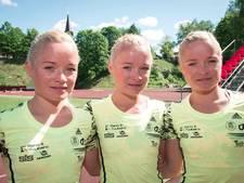 Olympische primeur: Drieling uit Estland loopt marathon