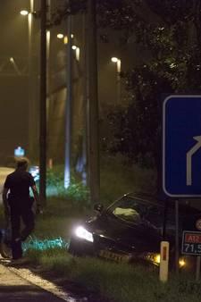 Politieachtervolging eindigt in heftige crash op de A12