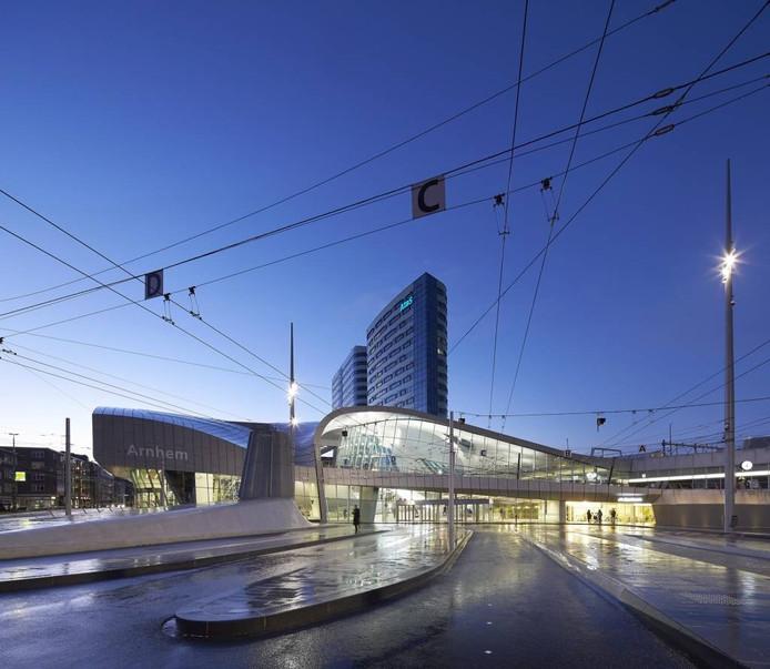 Station Arnhem Centraal. Foto Hufton + Crow