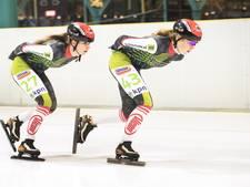 Nijmeegs schaatsduo na Noordlaren toe aan de Weissensee