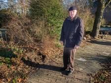 Bejaarde omver gelopen door zwijn in Milsbeek (video)