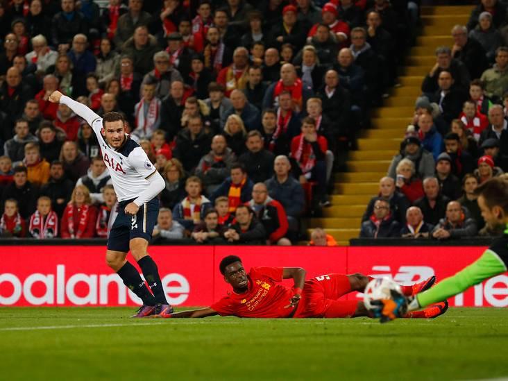VIDEO: Goal Janssen helpt Spurs niet bij Liverpool
