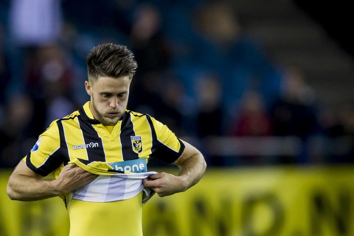 Vitesse speler Ricky van Wolfswinkel.