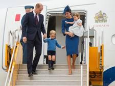 Warm welkom voor Britse royals in Canada