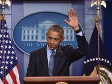 Obama's laatste uren: inpakken en thee met de Trumps