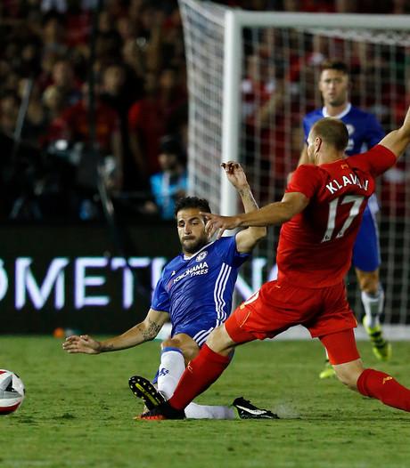 Rood voor Fabregas na horrortackle in oefenduel