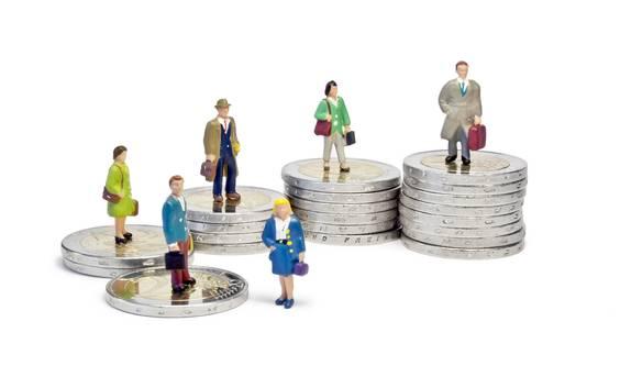 Het gemiddelde bruto maandloon bij bedienden is 3.510 euro