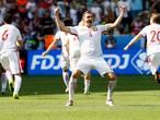 Polen klopt Zwitserland na penalty's, briljante goal Shaqiri