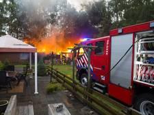 Jannie redde haar slapende buurman bij Oosterhoutse campingbrand