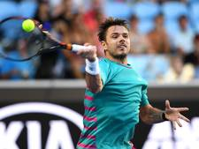 Wawrinka wel door in Melbourne