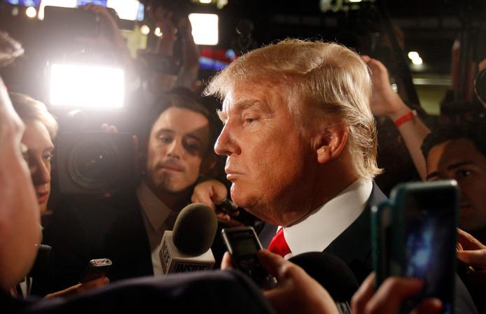 Donald Trump ontkent in alle toonaarden.