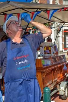 Vaste klanten houden 75-jarige haringman jong