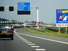 Onderzoek naar verkeer op de A2 bij Deil