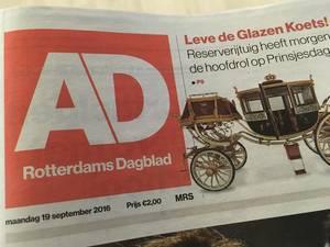 AD Rotterdams Dagblad zoekt talentvolle freelancers