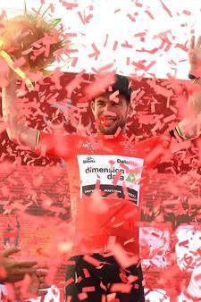 Cavendish in leiderstrui Abu Dhabi na sprintzege