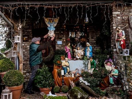 Kerstverhaal in eigen land, maak een kribkeswandeling
