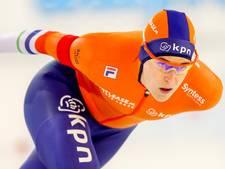 Wüst wint 1500 meter Heerenveen, Leenstra naast podium