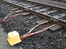 Fotograaf vast voor saboteren spoor