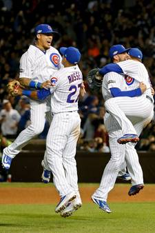 Chicago Cubs na ruim 70 jaar in World Series