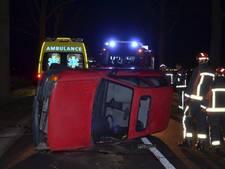 Automobilist gewond bij aanrijding met ree in Lochem