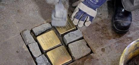 Gedenkstenen van de Jodenvervolging gestolen
