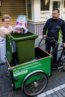 Schillenboer als vanouds langs de deur in Rotterdam