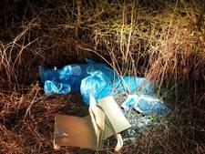 Drugsafval gedumpt langs Lathumse Veerweg