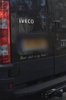 Is 'Your shit is my food' van Haagse loodgieter slechtste slogan?