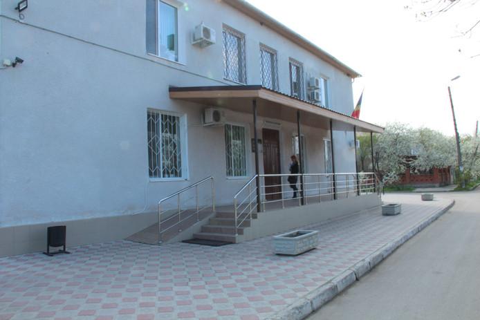 De rechtbank in Moldavië.