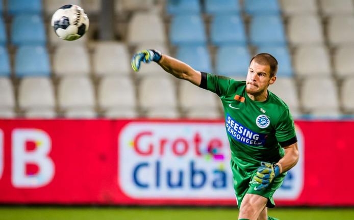 De Graafschap keeper Filip Bednarek.