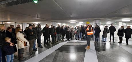 Bewoners nemen kijkje in nieuwe Tielse parkeergarage