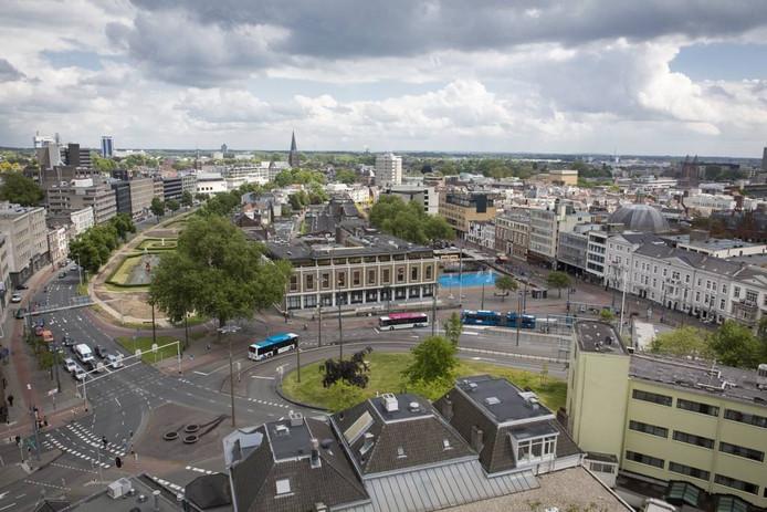 De binnenstad van Arnhem. Foto Erik van 't Hullenaar